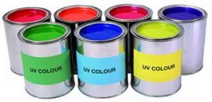 UV barvy
