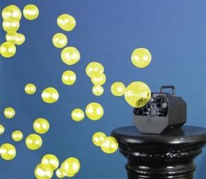 UV bublinová show